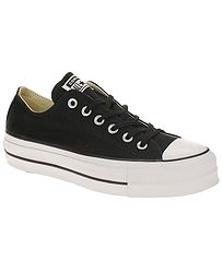 topánky Converse Chuck Taylor All Star Lift OX - 560250 Black White White 8c3a506337b