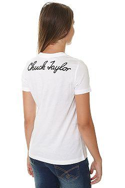 ... tričko Converse Chuck Patch Crew 10007043 - A01 White 2efabe0fe9