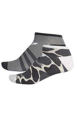 0f4550aad3 ponožky adidas Originals Trefoil Liner Camo 2 Pack - Multicolor White