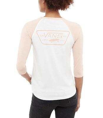 tričko Vans Full Patch Raglan - White Rose Cloud - snowboard-online.sk 73bc42fe2f