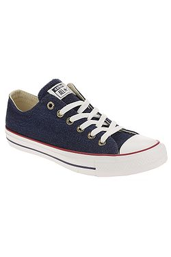 topánky Converse Chuck Taylor All Star Denim OX - 161489 Dark Blue Natural  Ivory 1cf19723cf