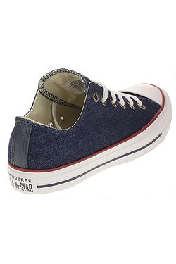 ... topánky Converse Chuck Taylor All Star Denim OX - 161489 Dark  Blue Natural Ivory d6af2cbb3fb