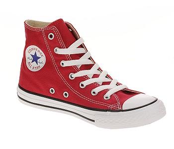 ee9569dff1 DETSKÉ TOPÁNKY CONVERSE CHUCK TAYLOR ALL STAR HI 3J232 - RED - skate ...