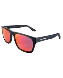 okuliare Horsefeathers Keaton - Brushed Black Mirror Red Polarized 5128d359af8
