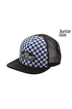 8792501342a kšiltovka Vans Classic Patch Trucker Youth - True Blue White