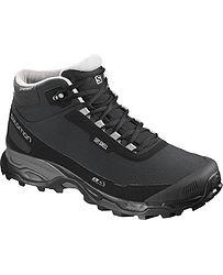 7aa882551d545 topánky Salomon Shelter Spikes CS WP - Black/Black/Forest Gray