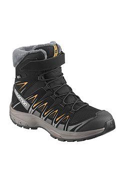 detské topánky Salomon XA Pro 3D Winter TS CSWP - Black Magnet Tangelo ... e1ea9fd5b68