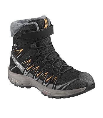 detské topánky Salomon XA Pro 3D Winter TS CSWP - Black Magnet Tangelo 7cb3b0c4add