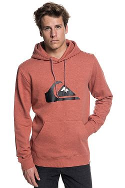 mikina Quiksilver Big Logo - RQJH Barn Red Heather eac76b0a63d