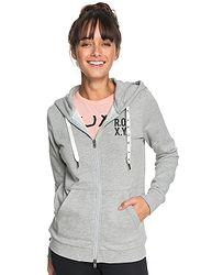 mikina Roxy Dress Like You Re Fleece B Zip - SGRH Heritage Heather d789435336e