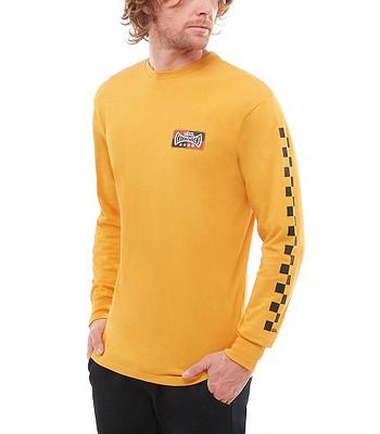 be2587bddce T-Shirt Vans Vans X Independent Checkerboard LS - Sunflower - men´s -  blackcomb-shop.eu