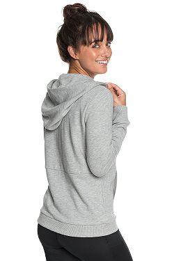 ... mikina Roxy Dress Like You Re Fleece B Zip - SGRH Heritage Heather 3d53b21f32d