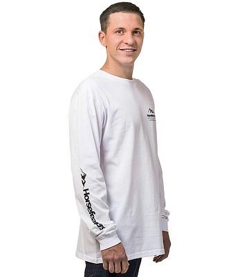 tričko Horsefeathers Kent LS - White - snowboard-online.sk 95f1d330af0