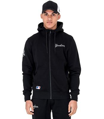 quality design 49697 4ccb0 sweatshirt New Era Team Apparel Script Zip MLB New York ...