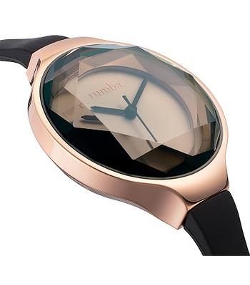 hodinky RumbaTime Orchard Gem Silicone - Black Diamond - snowboard-online.sk f412e03c7b8