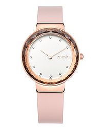 hodinky RumbaTime Santa Monica - Rose Gold Pink Leather b6ebcc52a5e