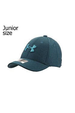 9aaf3e8d20b cap Under Armour Heather Blitzing 3.0 Youth - 489 Techno Teal Techno Teal -
