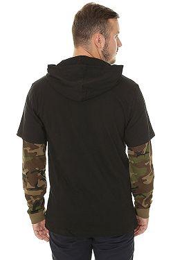... tričko Vans Woodland LS - Black Camo df77529359a