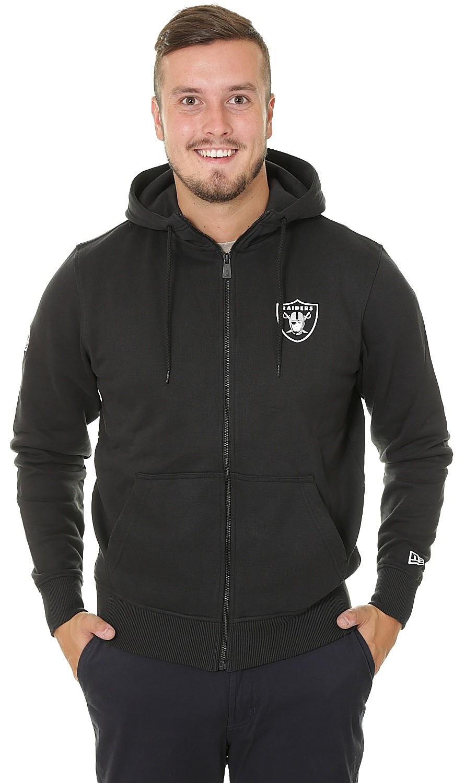 New Era Nfl Pop Mens Hoody Zip Oakland Raiders All Sizes
