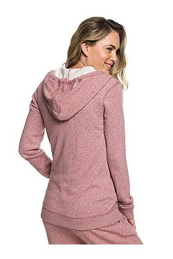 ... mikina Roxy Trippin Zip - MMG0 Withered Rose 369a0a37c4b