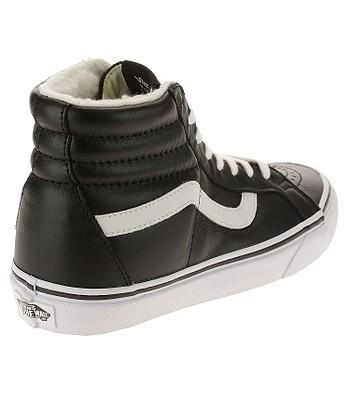 37820cb501 shoes Vans Sk8-Hi Reissue - Leather Fleece Black True White. In stock -20%
