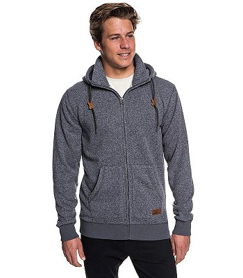 00b448f2ed mikina Quiksilver Keller Zip - KRPH Dark Gray Heather