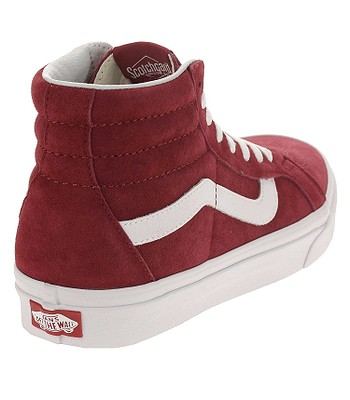 d2c17bbf7f shoes Vans Sk8-Hi Reissue - Pig Suede Scooter True White. IN STOCK ‐ by 25.  4. at your home -20%