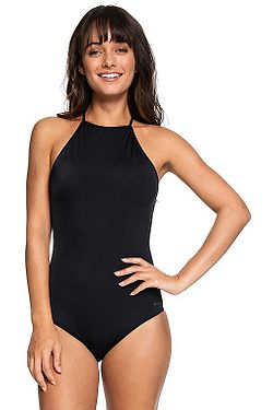 2f69276dace plavky Roxy Beach Basic One Piece - KVJ0 True Black ...