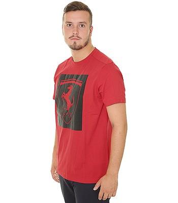 tričko Puma Ferrari Big Shield - Rosso Corsa - snowboard-online.sk 1633f327085