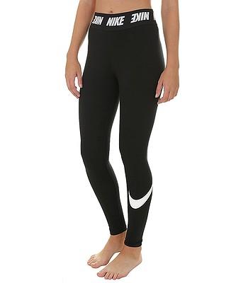 a69f148853e7 legíny Nike Sportswear Legging Club HW - 010 Black White - snowboard ...