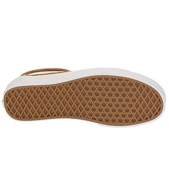 cdae4c51d19 shoes Vans Old Skool - Pig Suede Leather Brown True White ...
