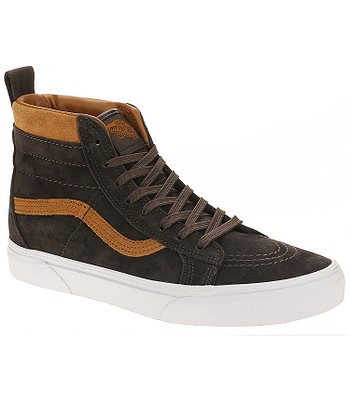 ccf796b33a6 shoes Vans Sk8-Hi MTE - MTE Suede Chocolate Torte - blackcomb-shop.eu