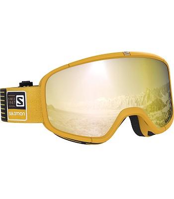 okuliare Salomon Four Seven - Safran Solid Bronze - snowboard ... d6b56343497
