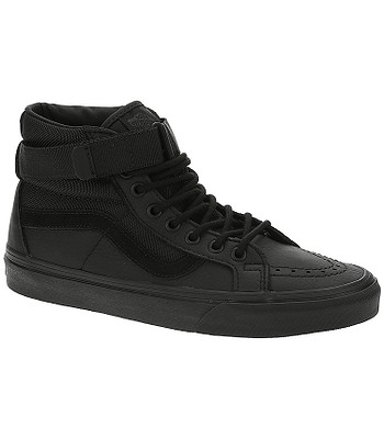 8e87cddf08274d shoes Vans Sk8-Hi Reissue Strap - Leather Ballistic Black -  blackcomb-shop.eu
