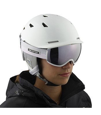 okuliare Salomon Ivy - White Flower Universal White - snowboard-online.sk 9c1a529efa7