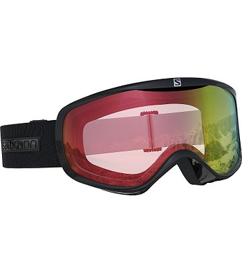 49b277c52 okuliare Salomon Sense Photo - Black/All Weather/Red - snowboard ...