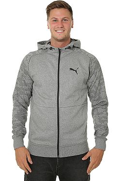 mikina Puma Modern Sports Zip - Medium Gray Heather d3b86ff7569