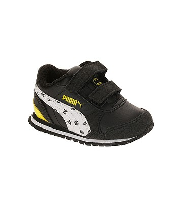 shoes Puma JL ST Runner V2 V Inf - Puma Black White Dandelion - kid ... db210523e