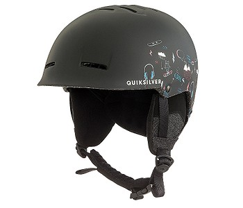 HELMA QUIKSILVER EMPIRE - KVJ6 BLACK MAOAM TATT - skate-online.sk 184654765fa