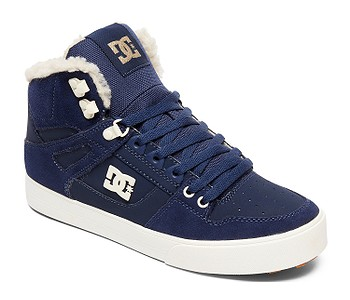 3eb9573fd TOPÁNKY DC PURE HIGH -TOP WC WNT - NKH/NAVY/KHAKI - skate-online.sk