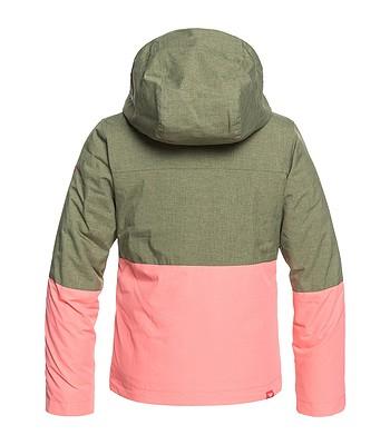detská bunda Roxy Jetty Block - GPH0 Four Leaf Clover  0671f0f83af