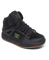 boty DC Pure High -Top WNT - XKKG Black Black Green 60778c0af4