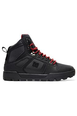 ... boty DC Pure High -Top WR - XKSR Black Gray Red adfd7ef8a2