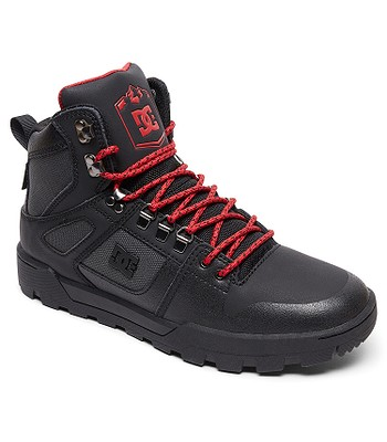 04d743858 topánky DC Pure High -Top WR - XKSR/Black/Gray/Red - snowboard ...