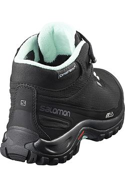 ... topánky Salomon Shelter CS WP - Black Black Eggshell Blue 5600b859d69