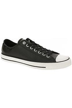 topánky Converse Chuck Taylor All Star Leather OX - 161497 Black Black Egret c4da964f668