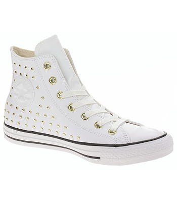 boty Converse Chuck Taylor All Star Hi - 561683 White White Gold ... 420ca69321