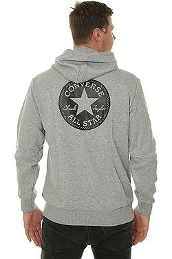 ... mikina Converse Chuck Taylor Graphic Pullover 10007066 - A01 Vintage  Gray Heather 50d2e05659c