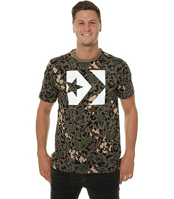 T-Shirt Converse Star Chevron Box Camo 10007233 - A01 Dusky Green - men´s -  blackcomb-shop.eu b5ed8e8827aa