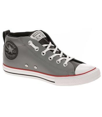 detské topánky Converse Chuck Taylor All Star Street Mid - 661888 Mason  Black White a09fbebfc70